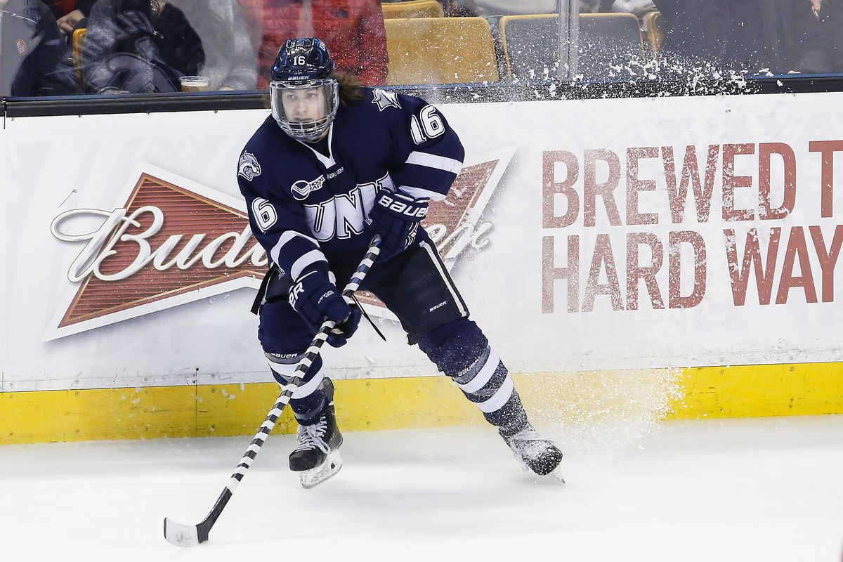 New Hampshire junior forward Tyler Kelleher had seven points over the weekend.