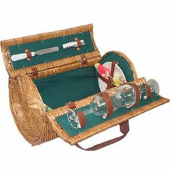 """<a href=""""http://www.picnic-basket.com/cannon-winecheese-basket-for-two.htm"""">l Cannon wine and cheese basket</a>, $56.95 picnic-basket.com"""
