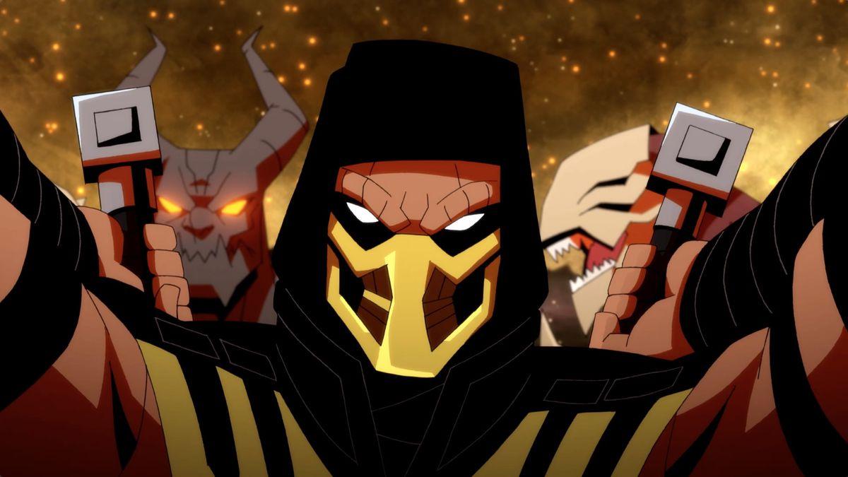 Mortal Kombat Legends: Battle of the Realms - Scorpion