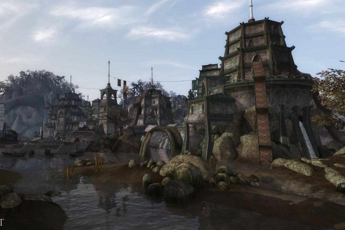 A temple from Tamriel Rebuilt the Elder Scrolls 3 Morrowind mod project