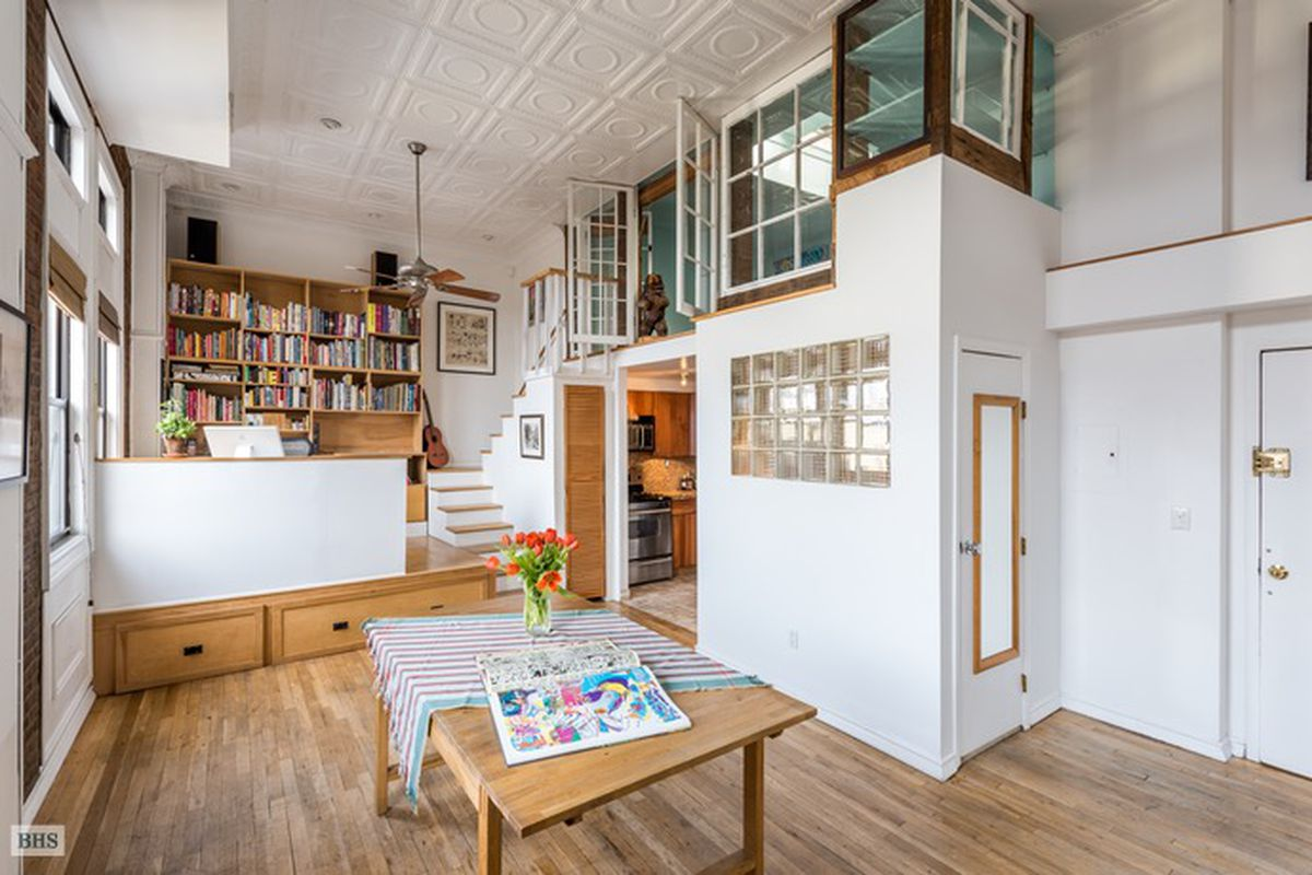 Sunny Park Slope Artist S Loft With Unusual Layout Seeks