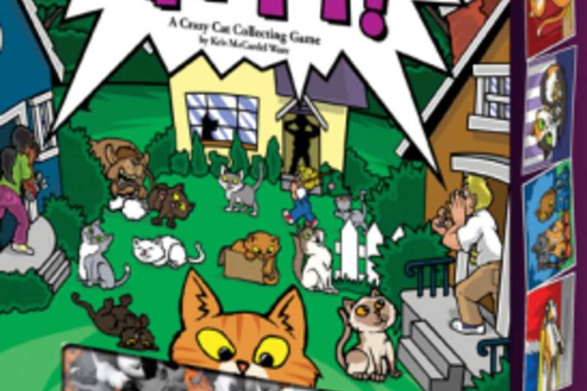 Your neighborhood has a cat problem! The problem is that all those cats don't belong to YOU! Everyone in the neighborhood wants to claim those adorable kitties for themselves.  Outwit your fellow feline aficionados as you lure cats onto your property, mov