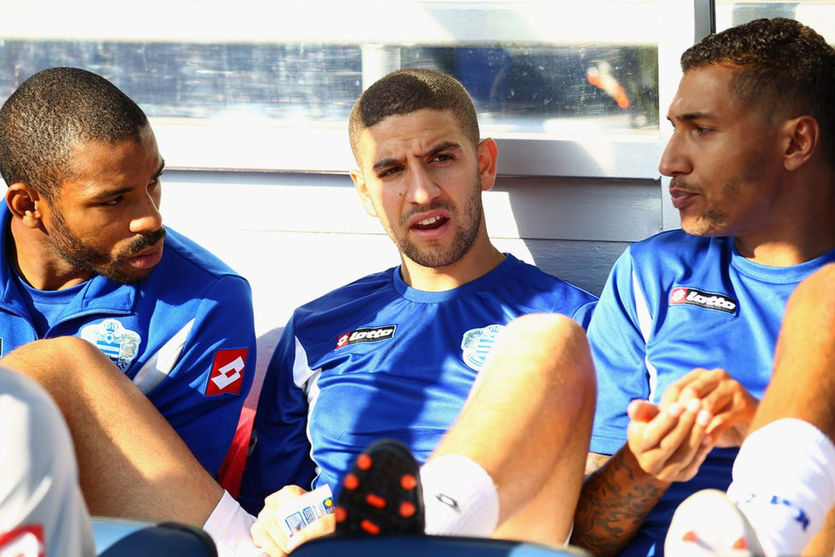 Taarabt (centre), deserving of a start says our Fan Focus man Mike!