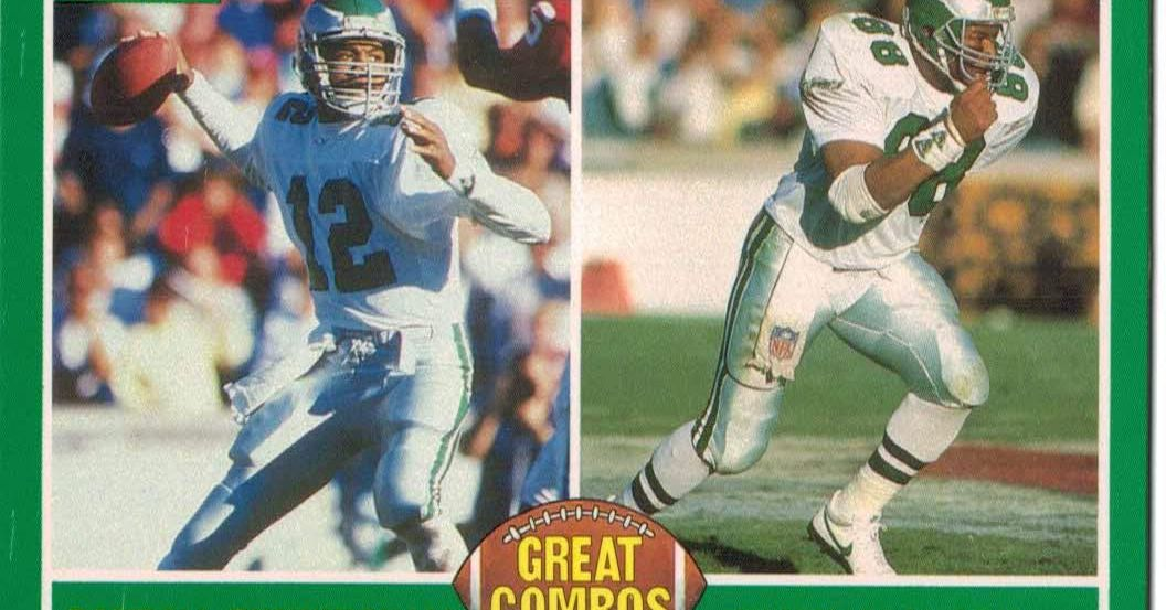 The ten finest Eagles junk wax soccer playing cards of all time