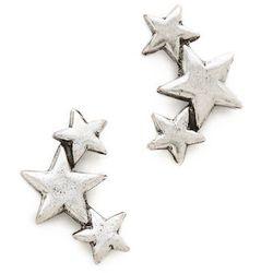 "<b>Avant Garde Paris</b> Star Earrings, <a href=""http://www.shopbop.com/star-earrings-avant-garde-paris/vp/v=1/1584338530.htm?fm=search"">$50</a>"
