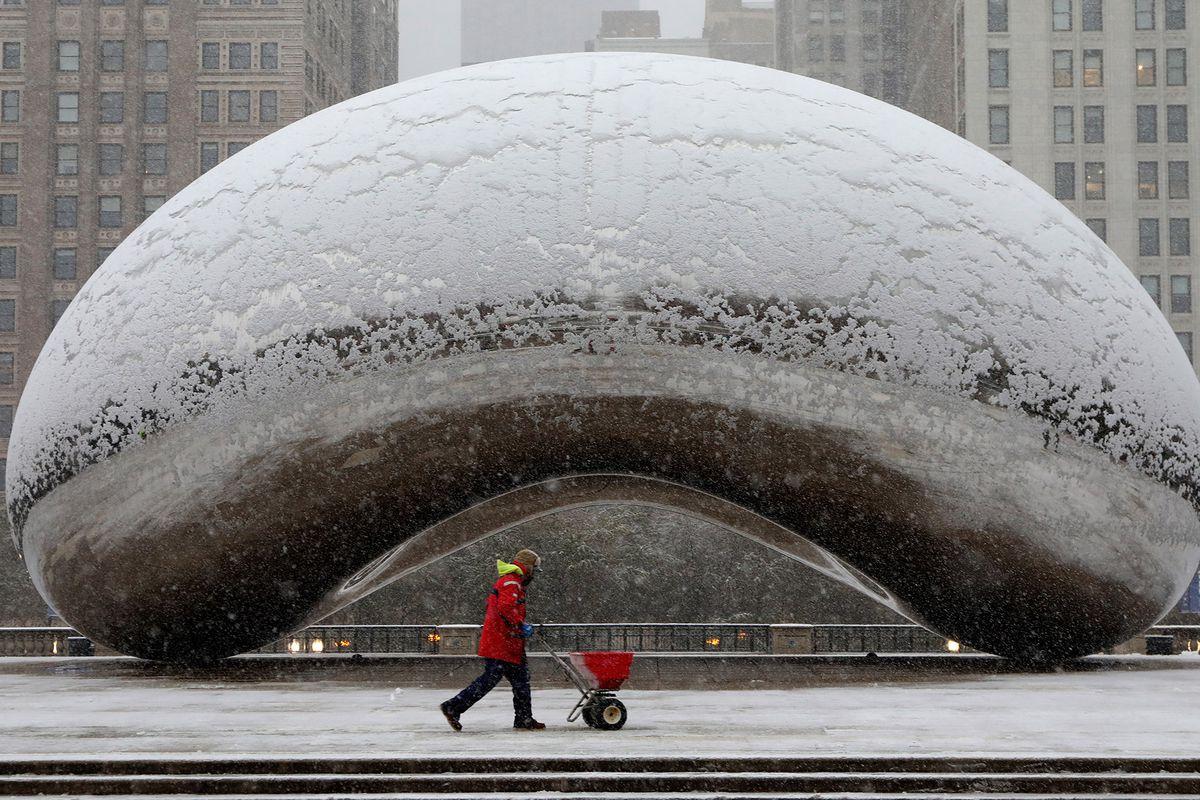 Chicago weathers winter advisory