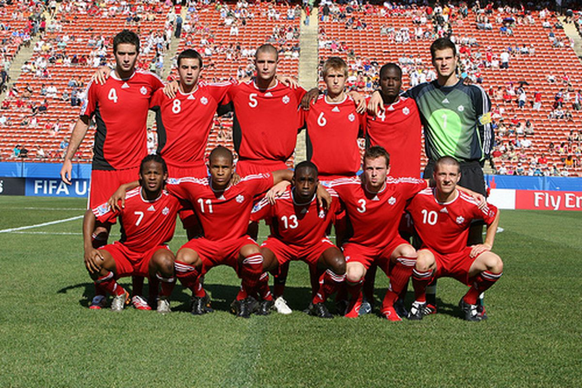 Plenty of familiar faces in the Canadian U20 team from 2007