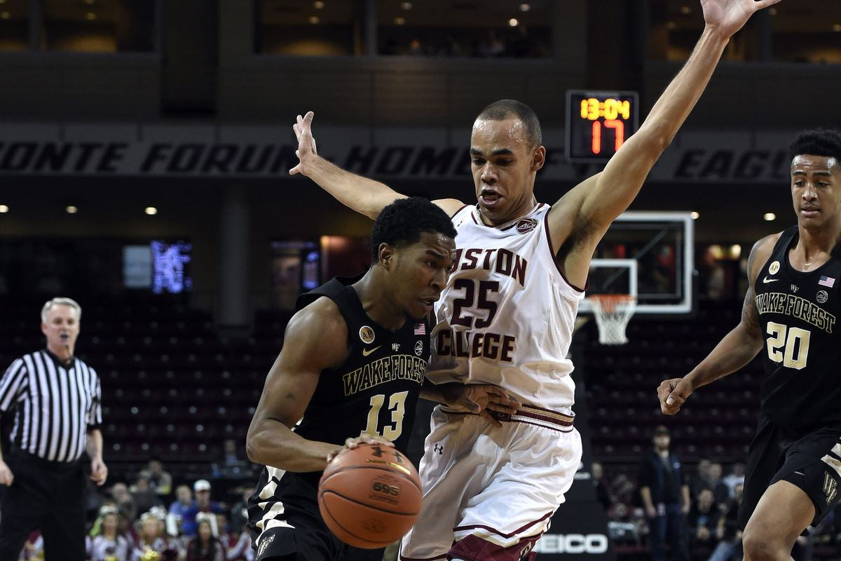 NCAA Basketball: Wake Forest at Boston College