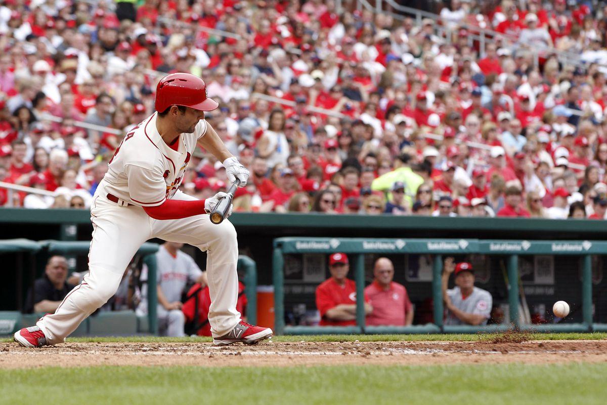 The Cardinals' starting third baseman tonight.