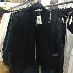 Jacket, size medium, $105 (from $395)