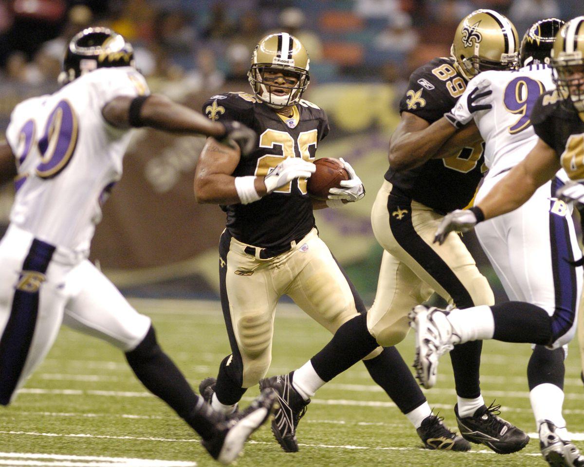 NFL Preseason - Baltimore Ravens vs New Orleans Saints - August 26, 2005