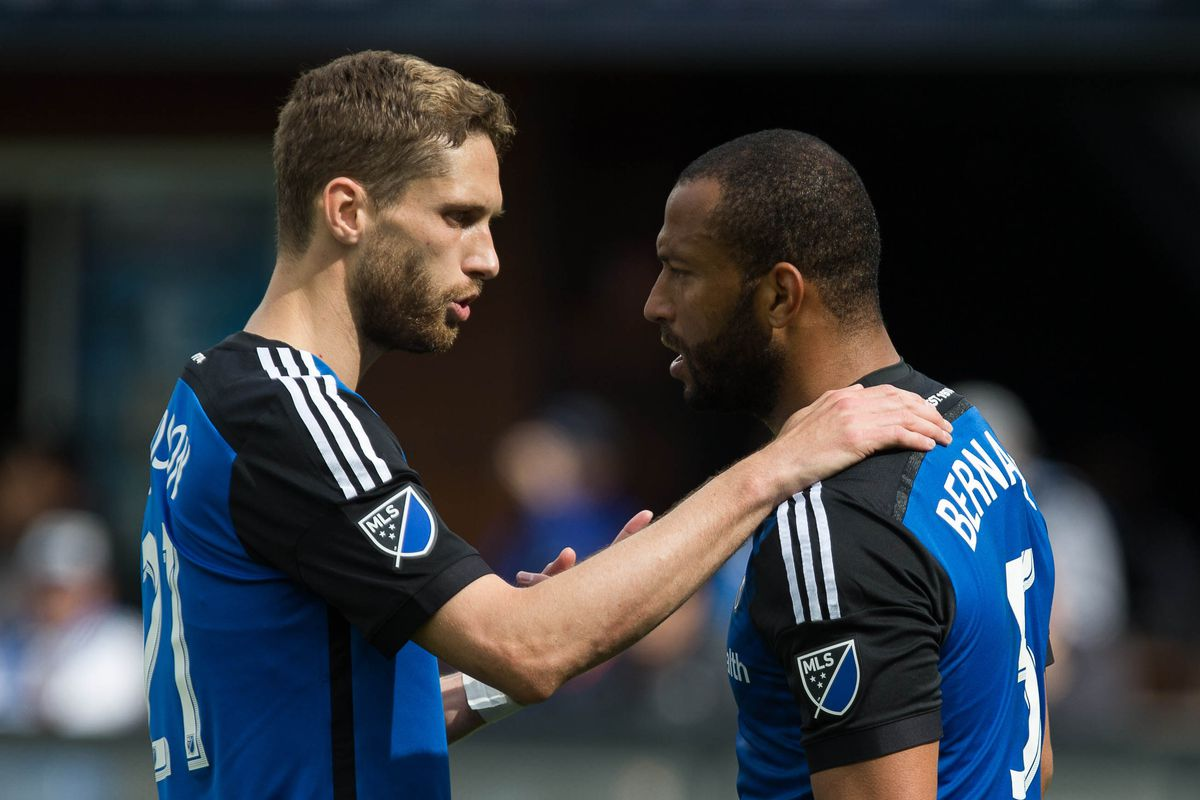 Vic and Clay anchor the Quakes back four