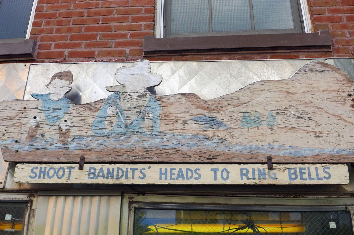 Tortilla Flats had a junk shop chic exterior.
