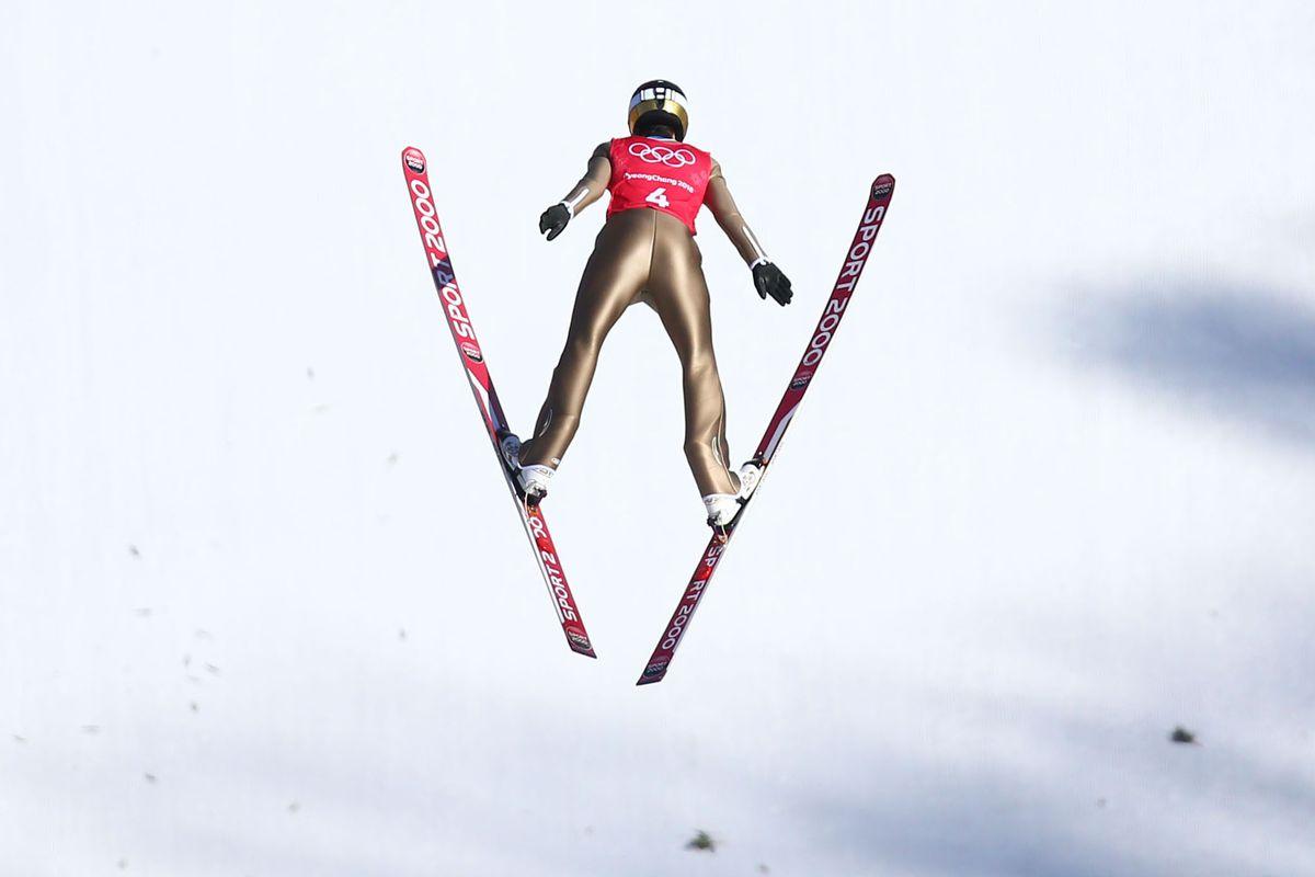 Olympics: Ski Jumping Training