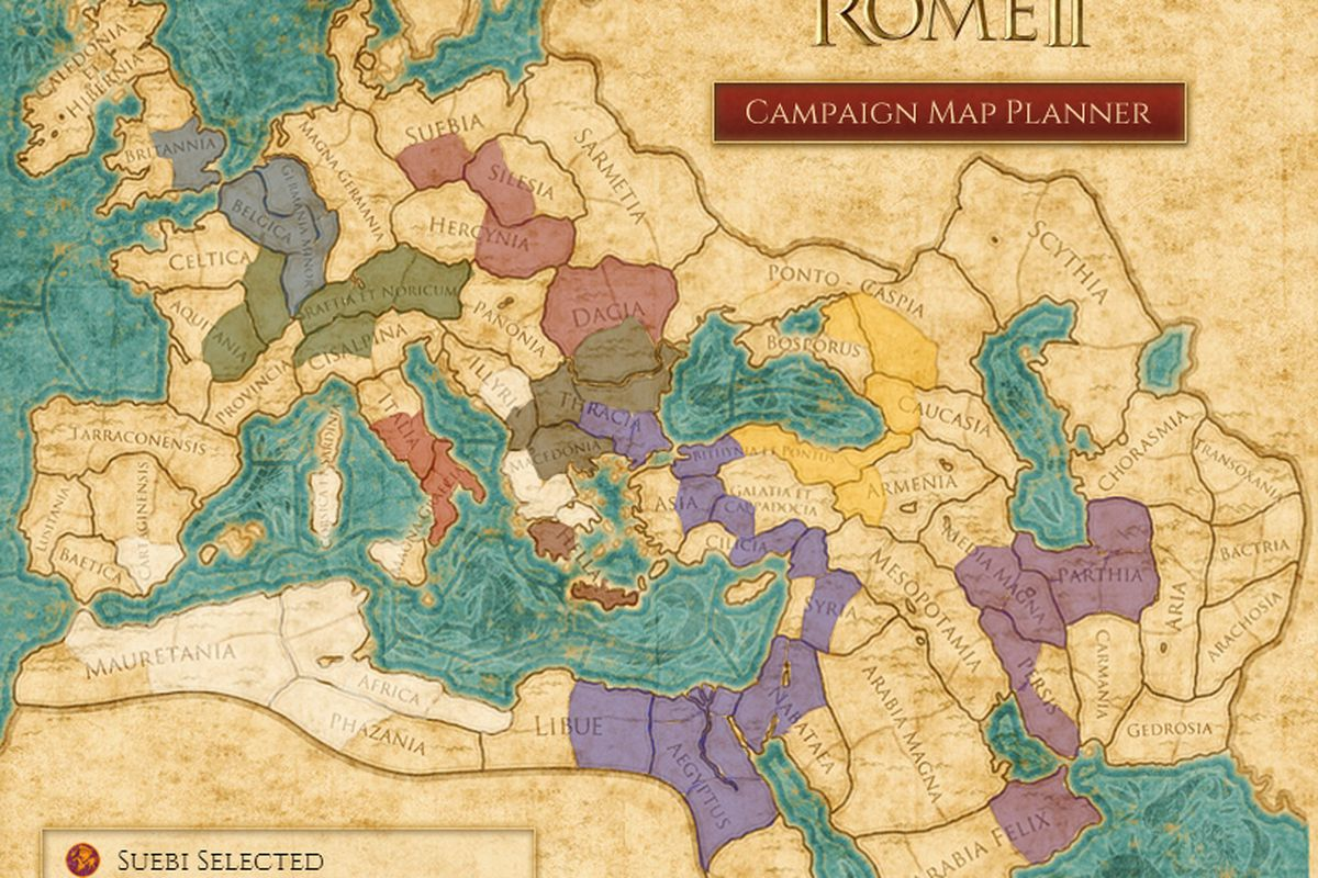 Rome 2 Map Plan your conquest with Total War: Rome 2 interactive map   Polygon Rome 2 Map