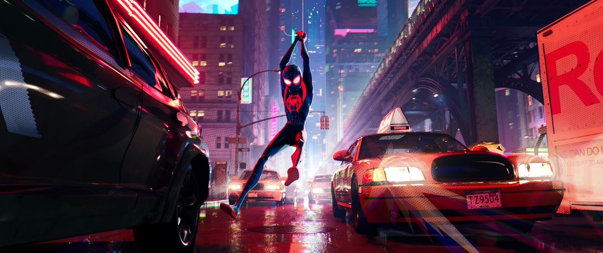 miles morales in spider-man into the spider-verse