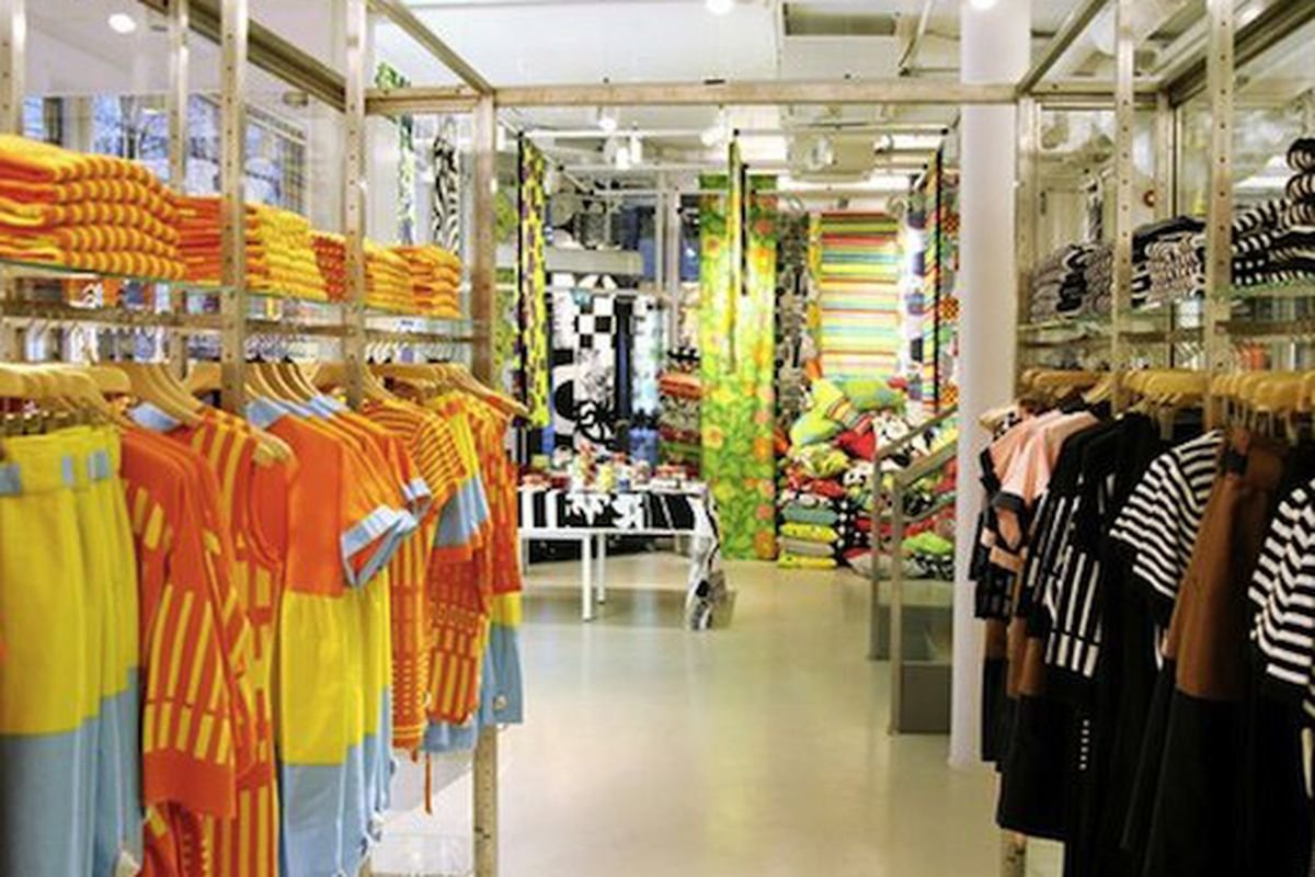"""The Marimekko store in Helsinki, Finland, via <a href="""""""" http:="""""""">WWD</a>"""