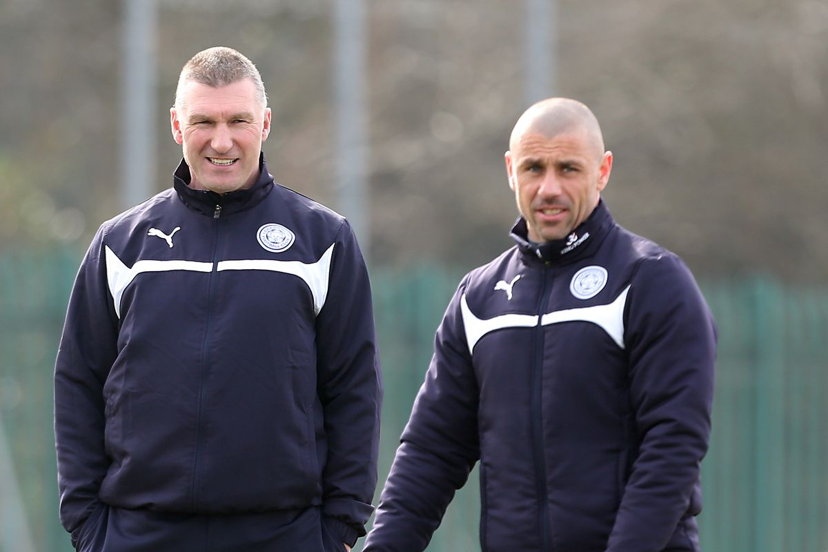 Leicester City Training Session and Press Conference