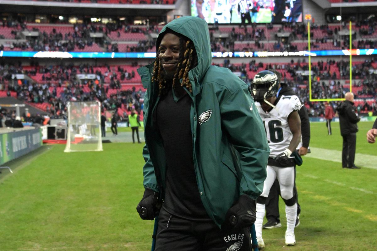 206721f92 Eagles News  Philadelphia has the second most contract value spent on  injured players
