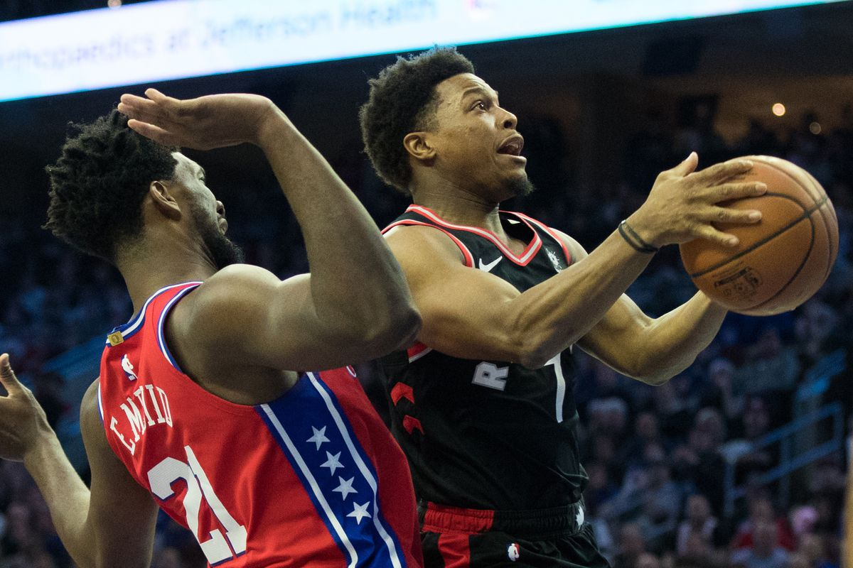 b4b7ee4b9a4 2019 NBA Playoffs  Toronto Raptors vs. Philadelphia 76ers second ...