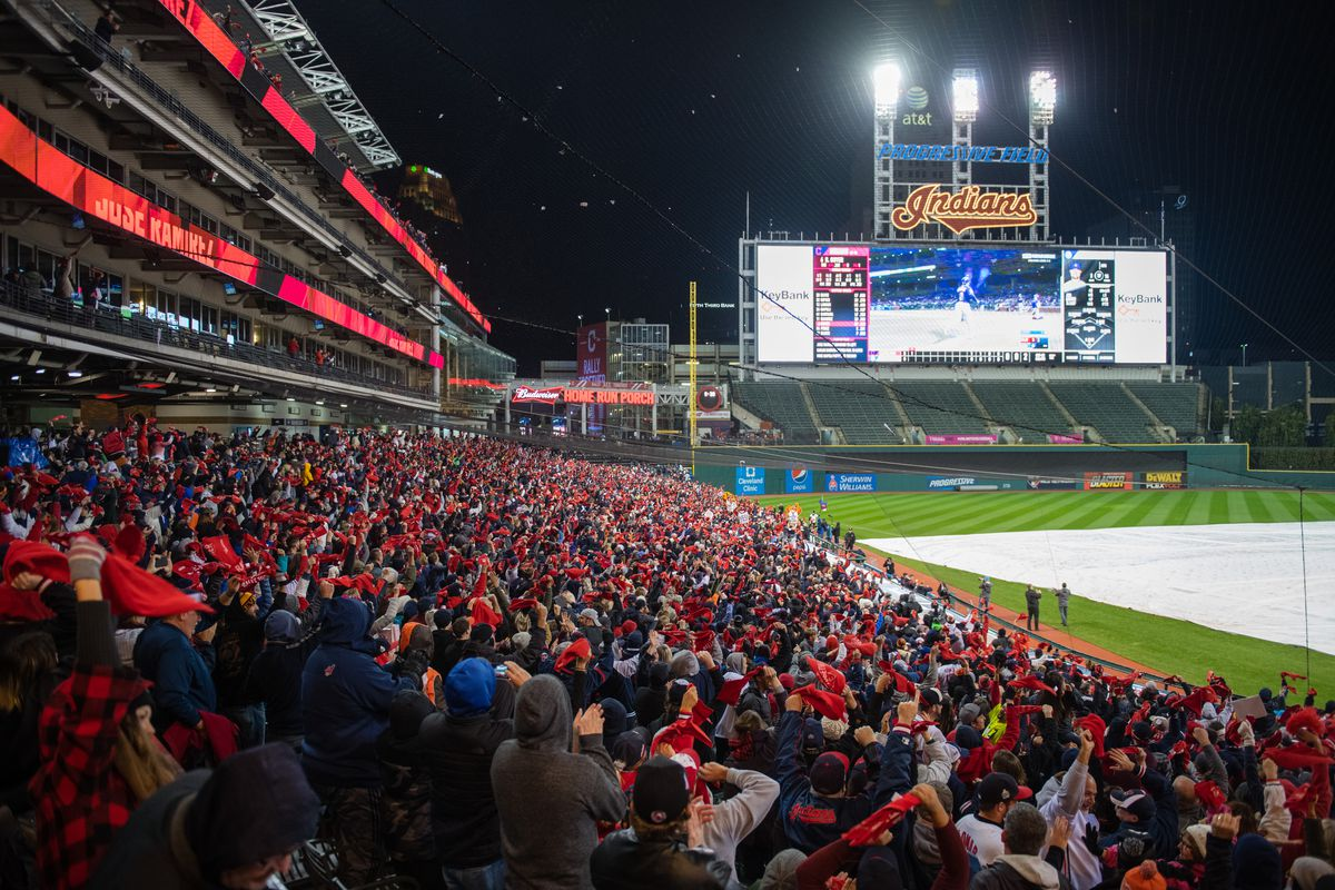 TONIGHT, A PROGRESSIVE FIELD: CAN THE INDIANS WIN IT ALL?