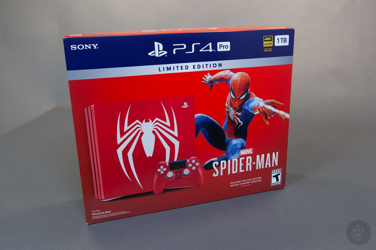spiderman ps4 deluxe edition