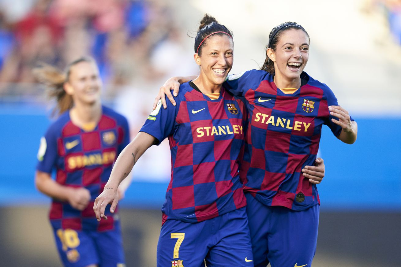 Barcelona Femeni thrash Real Madrid?s CD Tacon 9-1