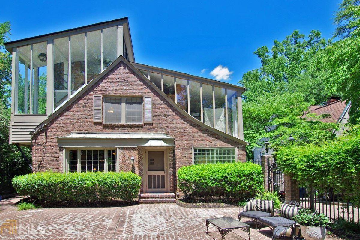 A Tudor home in Atlanta's Virginia-Highland neighborhood for sale that is unreal bad.
