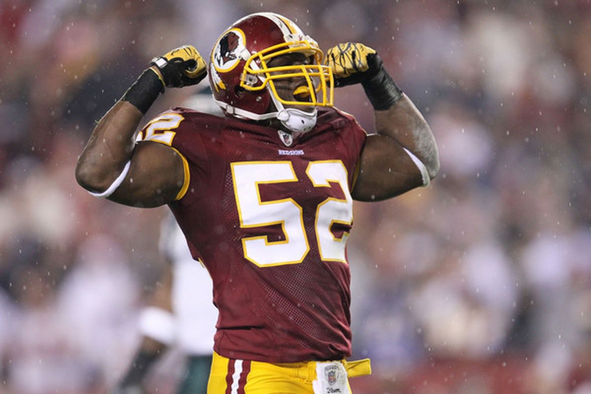 Does Rocky McIntosh have a spot on the 2011 version of the Redskins?