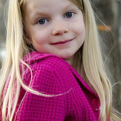 Emilie Alice Parker, 6, who was killed in the Sandy Hook Elementary School shooting, Friday, Dec. 14, 2012, in Newtown, Conn.