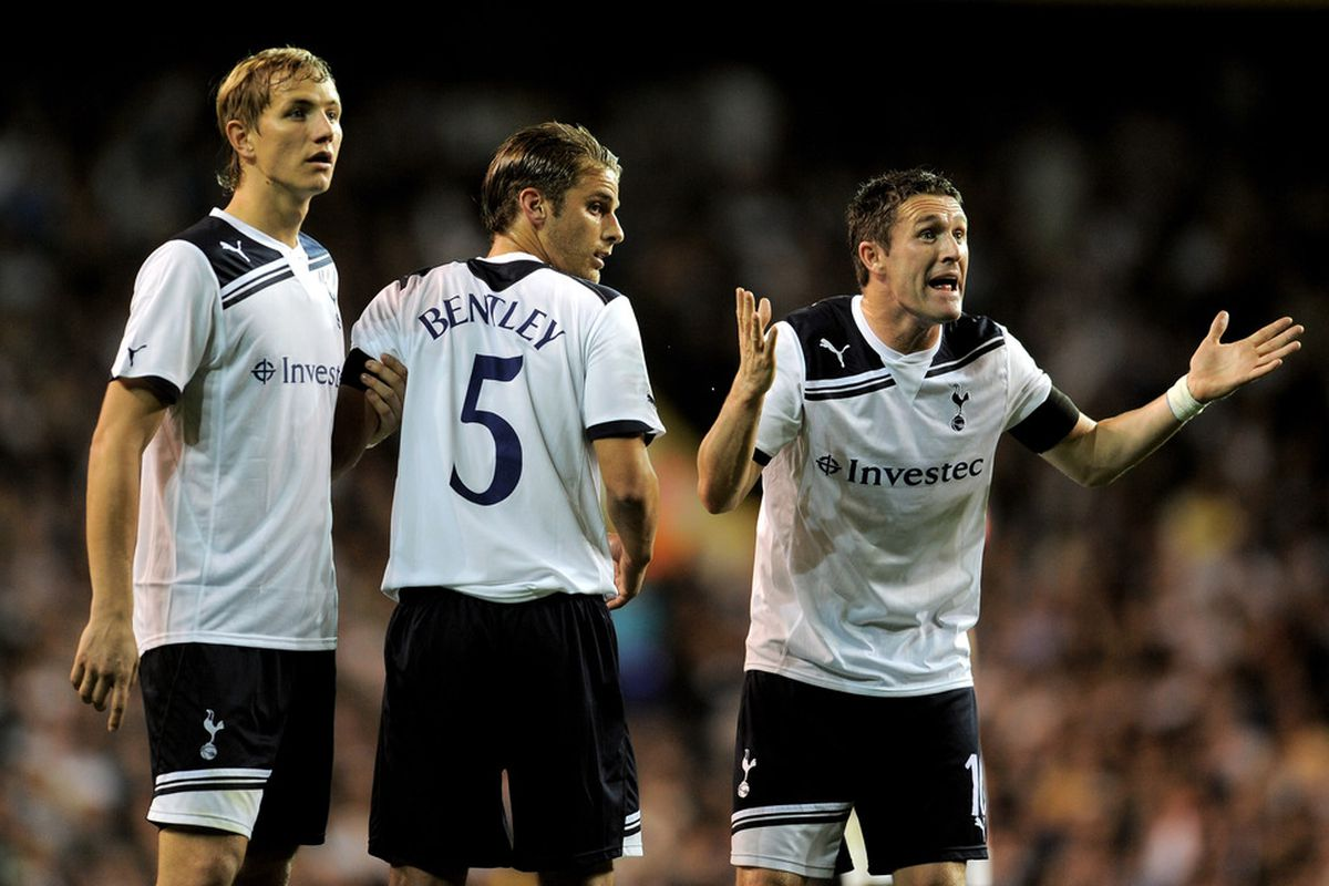 Sorry Robbie Keane, I don't know why you and David Bentley would ever consider joining Small Heath either. (Photo by Michael Regan/Getty Images)