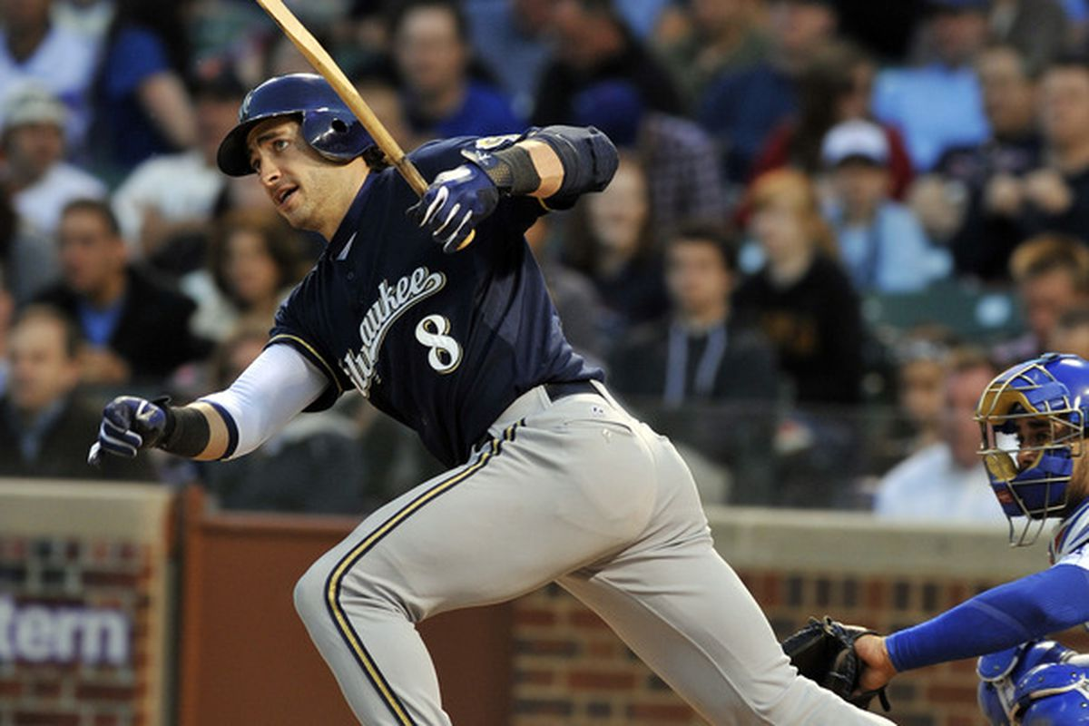 Ryan Braun et al might as well have spent nine innings hitting with broken bats.