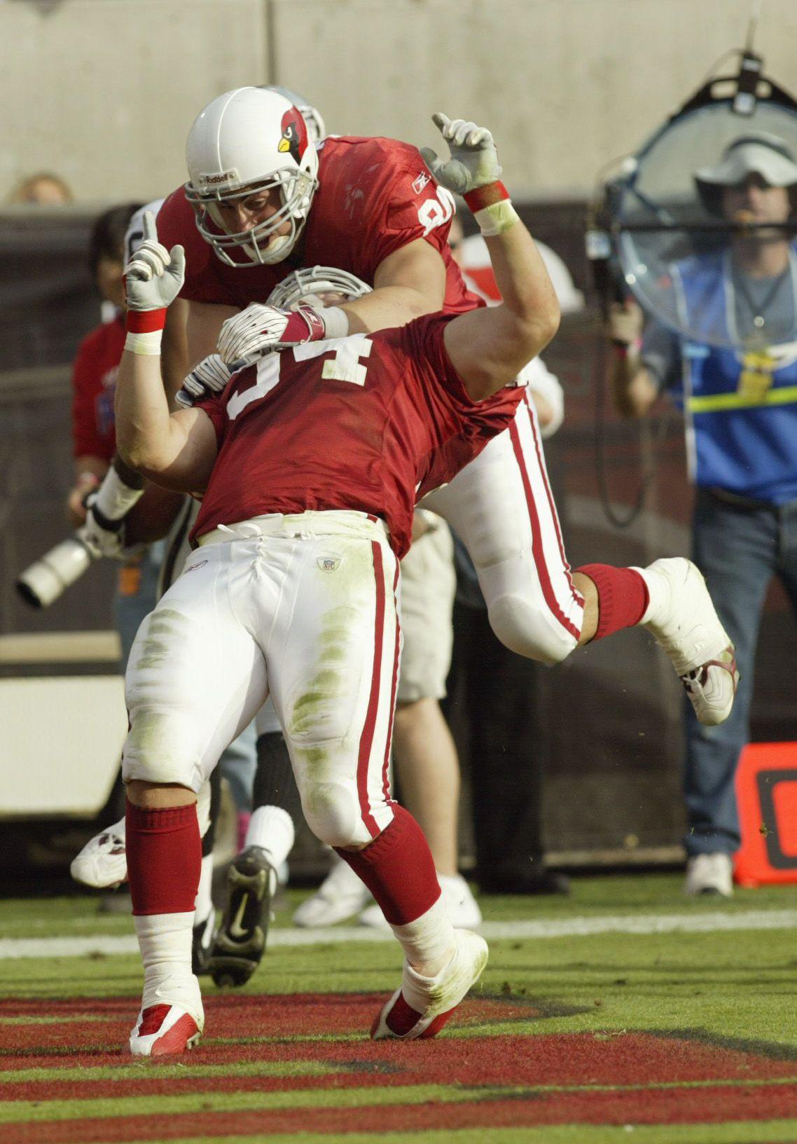 Joel Mackivicka touchdown celebration