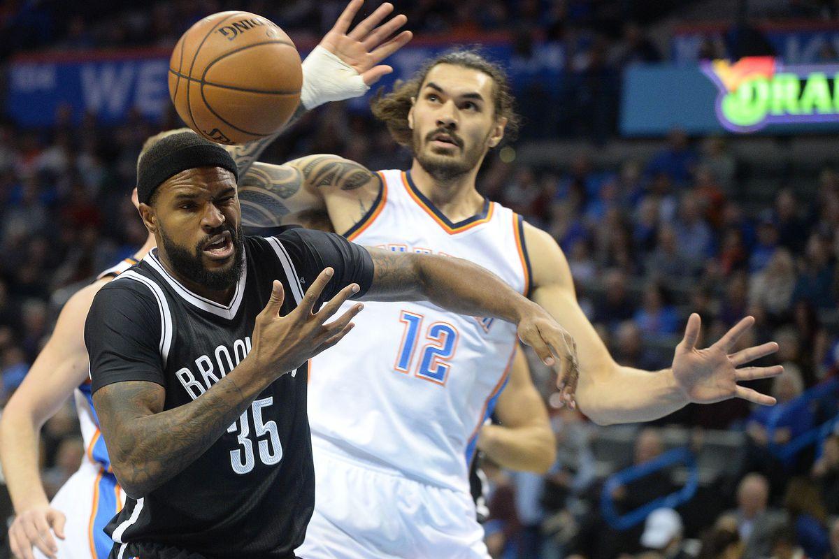 NBA: Brooklyn Nets at Oklahoma City Thunder