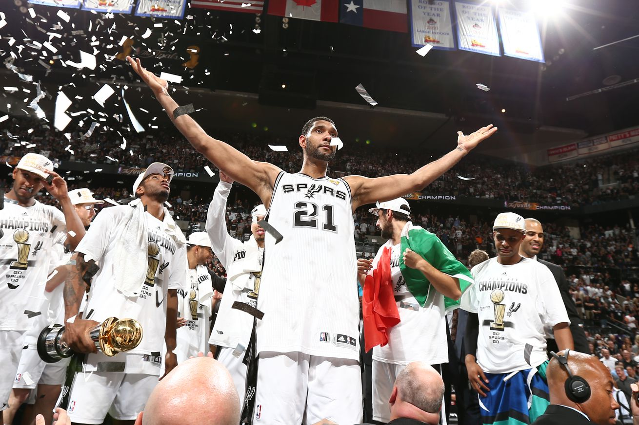 """Open Thread: Spurs """"Beautiful Game"""" added to NBA 2K20"""