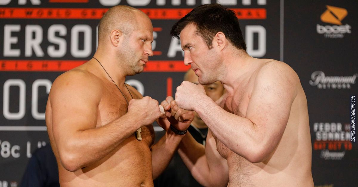 Bellator 208: Fedor vs. Sonnen live fight online coverage, results, play-by-play...