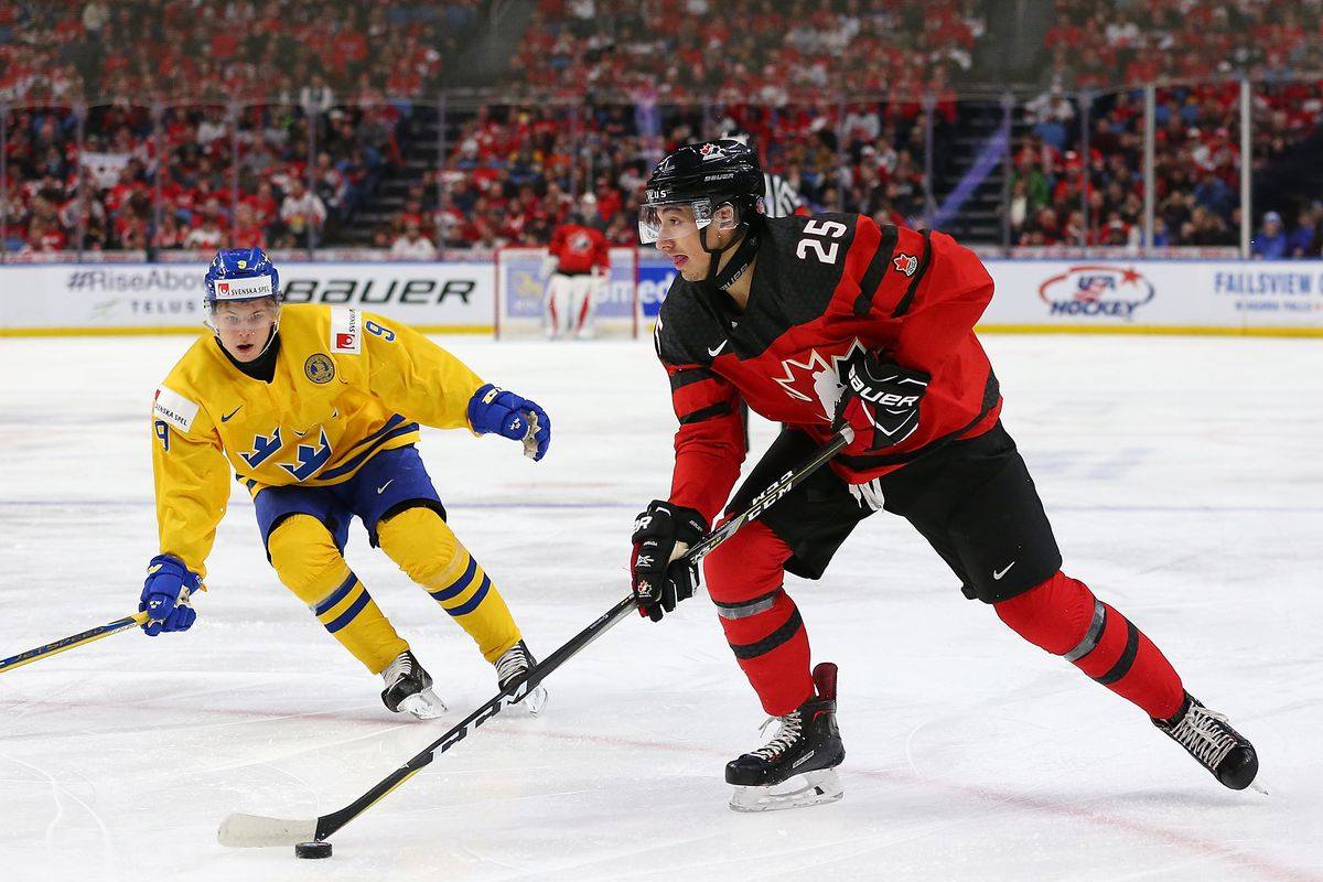 Canada vs. Sweden in gold-medal final