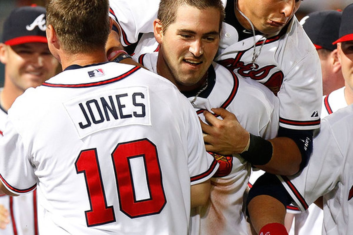Troy Glaus was carrying the Braves in May and early June. Now, not so much.