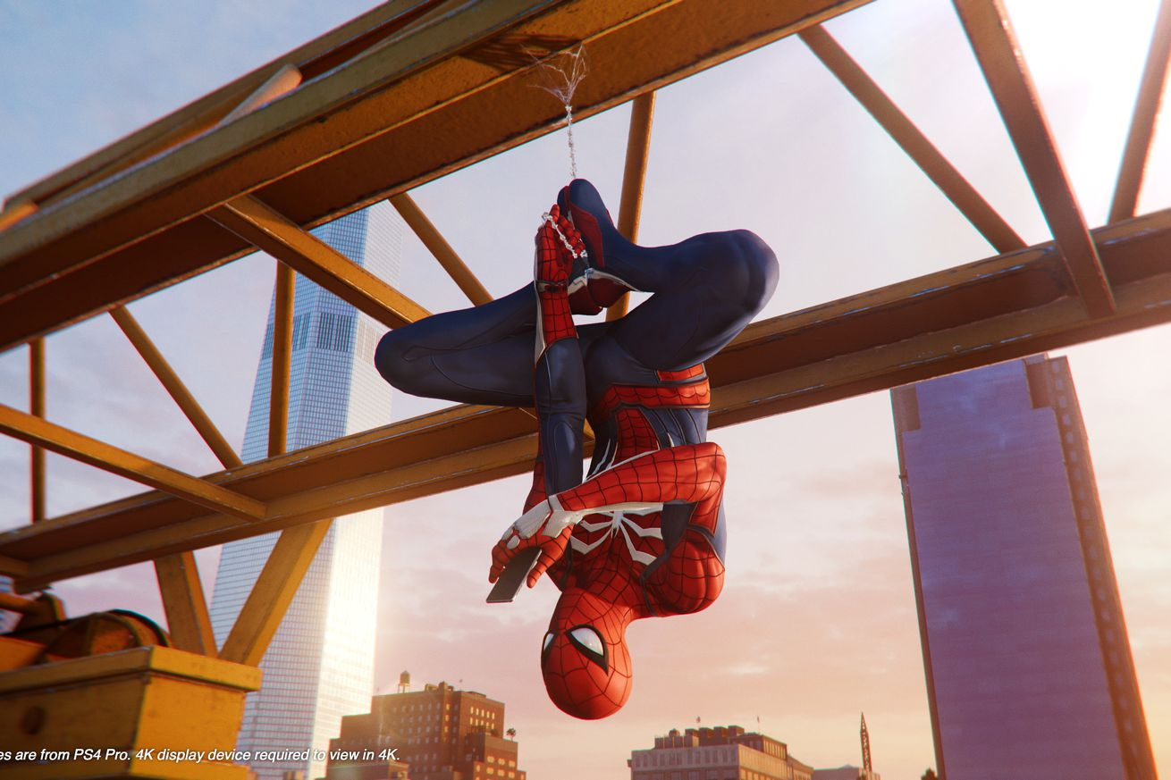 spider man on ps4 remixes comic book lore for a fresh superhero story