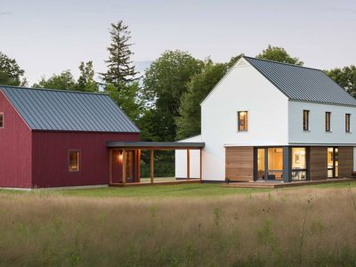 Prefab homes from Go Logic offer ?rural modernism? assembled in 2 weeks