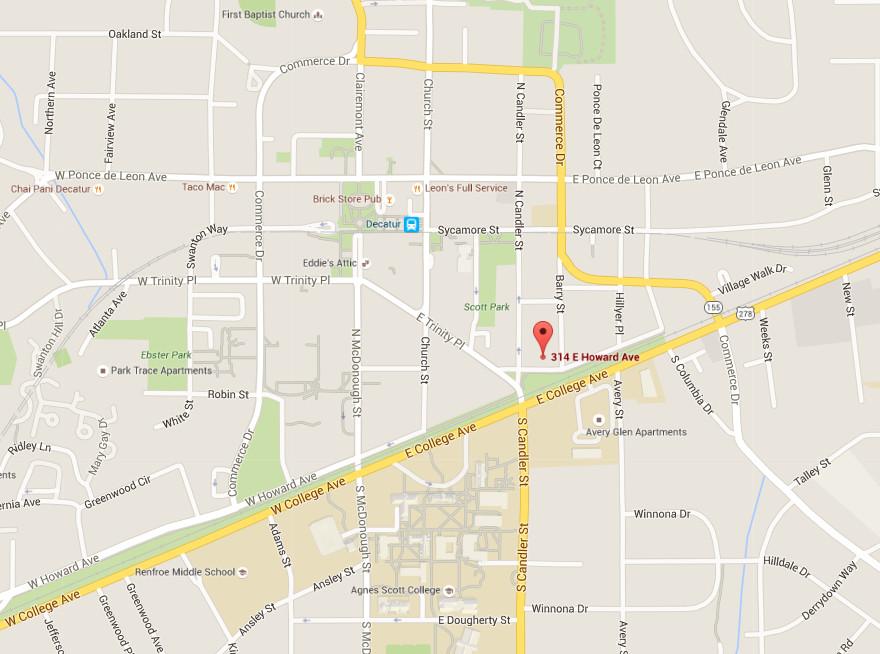 Ammazza Decatur map