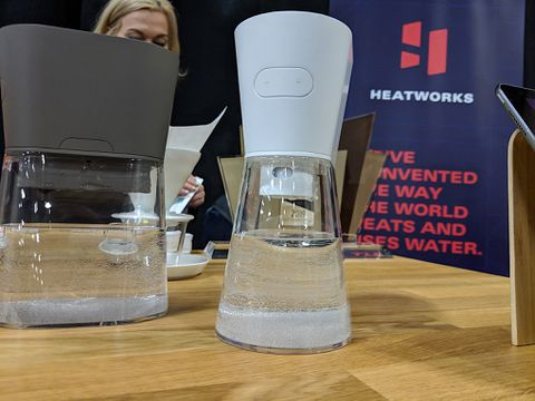 The Heatworks Duo Carafe will heat water as you pour it — if it ever