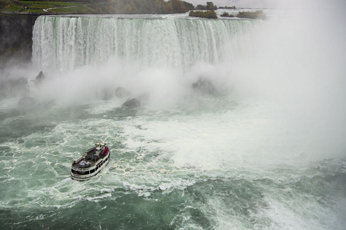Previous Maid of the Mist tours at Niagara Falls were run on diesel.