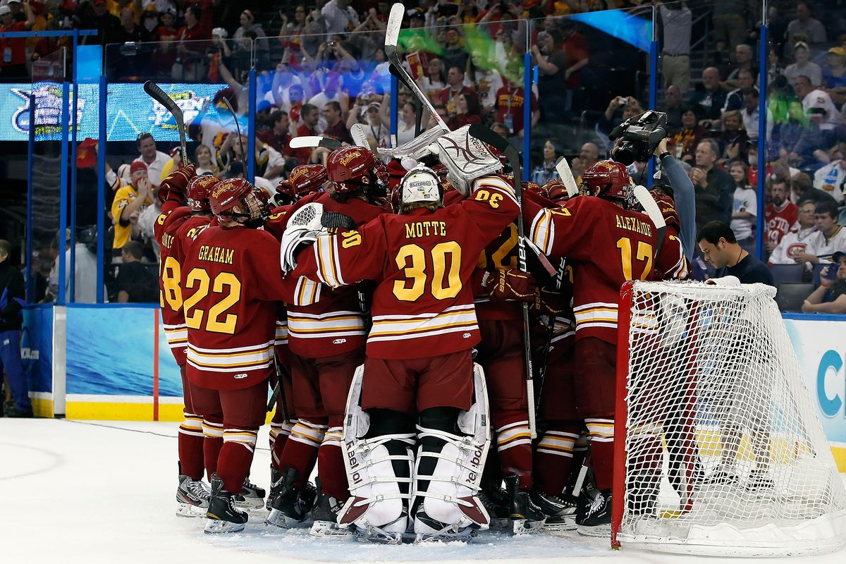 Motte was on Ferris State's 2012 Frozen Four finals team, where it lost to Boston College.