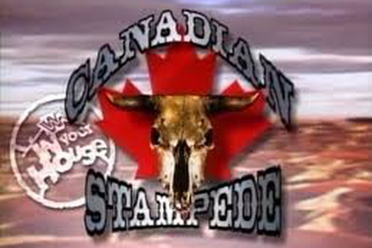 Image result for in your house canadian stampede logo