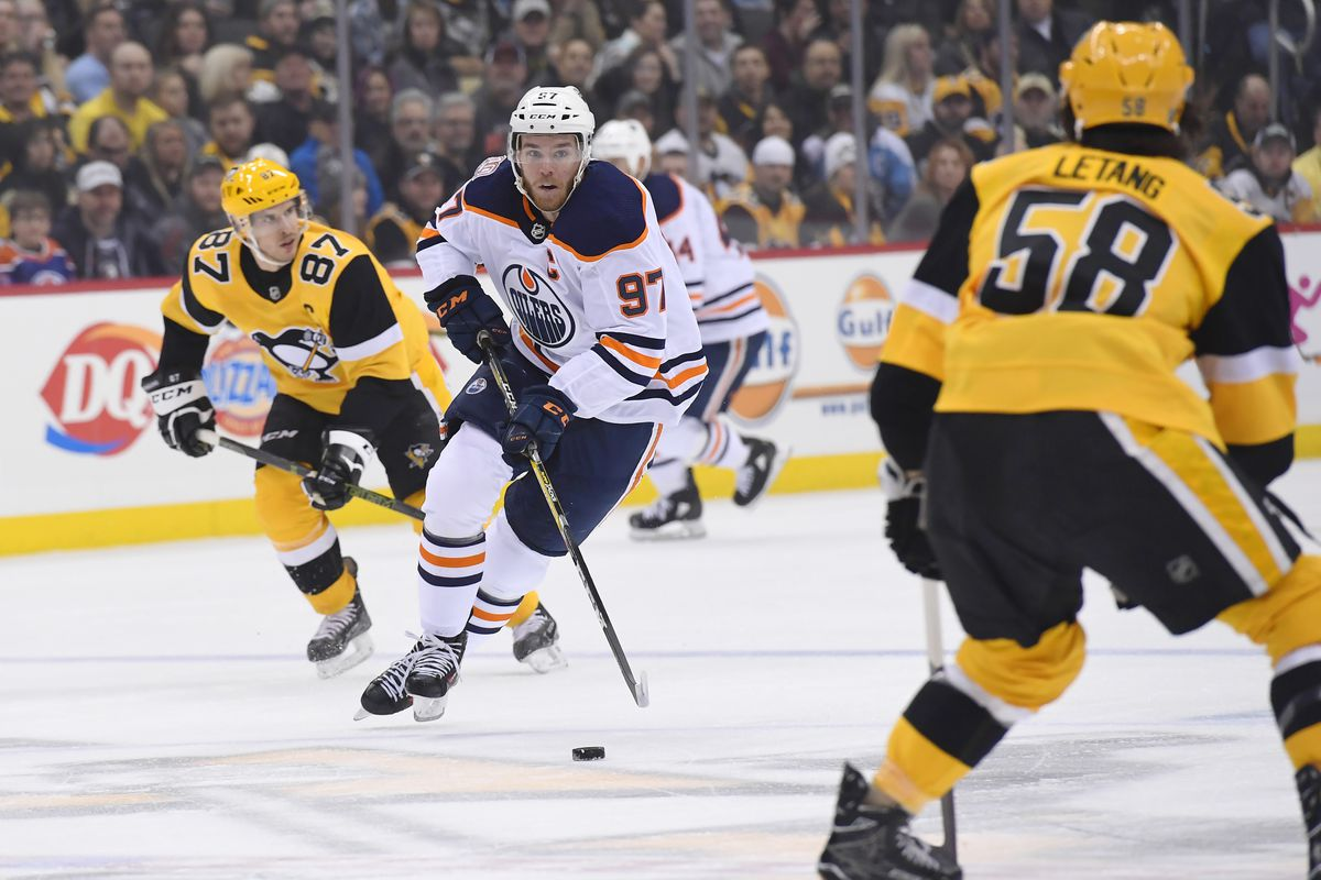 NHL: FEB 13 Oilers at Penguins