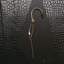 """<b>The Pick:</b> 'Elixir' rose gold earring, <a href=""""http://blisslau.com/store/index.php/home-page/elixir-earring-rose-gold.html"""">$588</a>"""