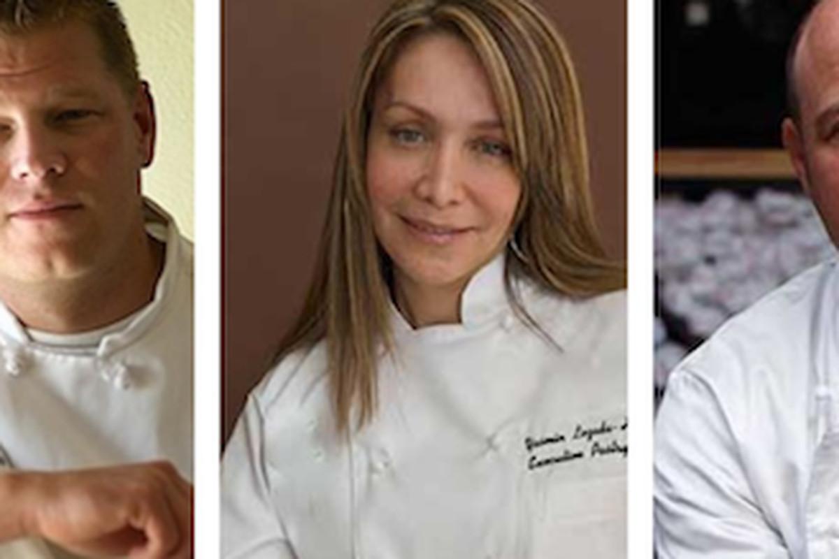 Alex Seidel of Fruition, Yasmin Lozada-Hissom of Spuntino, Frank Bonanno of Bonanno Concepts