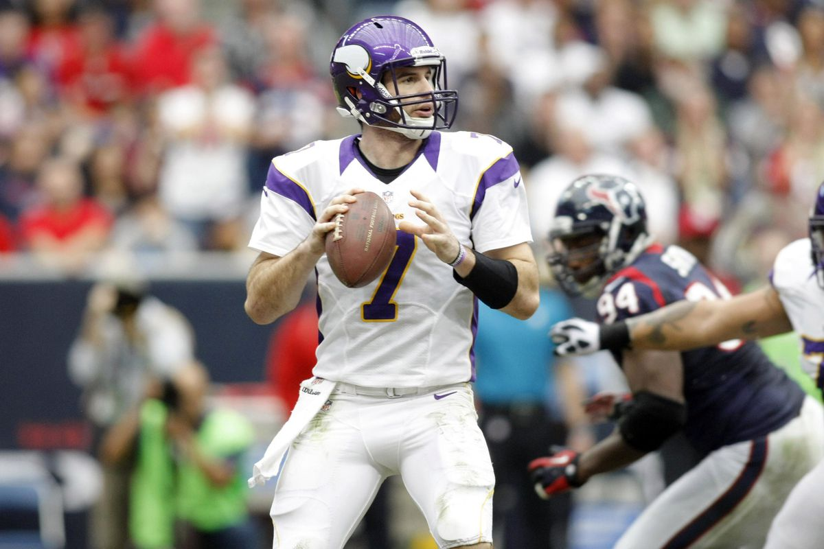 Christian Ponder's getting married, again.