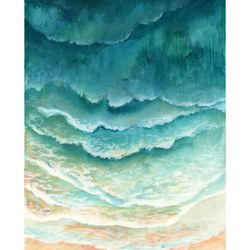 """<a href=""""http://www.minted.com/product/wall-art-prints/MIN-1NK-GNA/ombre-waves?ccId=482574&org=photo"""">Honeybunch Studio for Minted</a>"""
